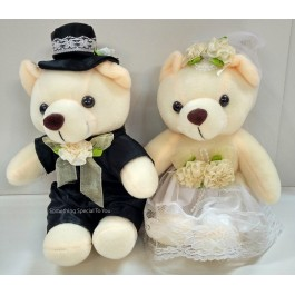 Western Wedding Bears