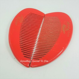 Heart-Shaped Couple Comb