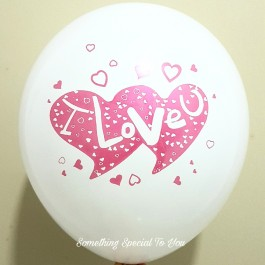 """I Love You"" Round Balloon (12"")"