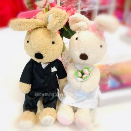 Le Sucre Couple Doll   Wedding Bear In Pair