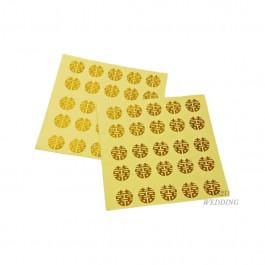 Round Stickers (Gold)