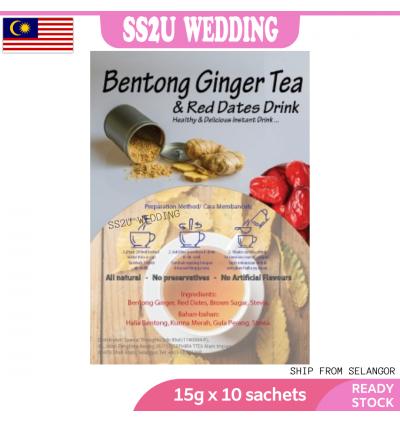Natural Bentong Ginger Drink (15g x 10's)